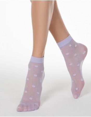 "Women's socks ""Dotty Violet"""