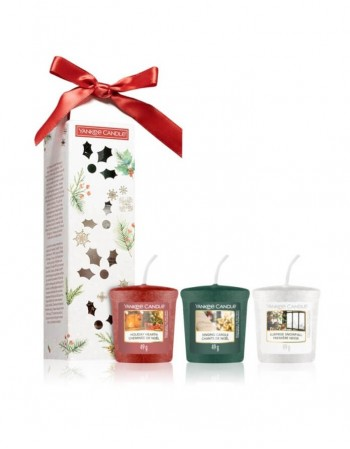 Aromātiska svece YANKEE CANDLE, Magical Christmas Morning Kit 3vnt., 49 g