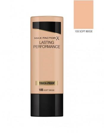"Creamy powder MAX FACTOR ""Lasting Performance"", 105 Soft Beige, 35ml"