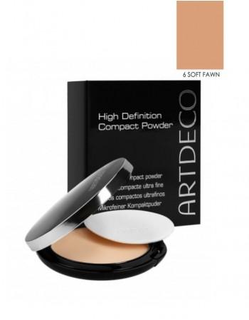 "Compact Powder ARTDECO ""High Definition"", 06 Soft Fawn, 10 g"