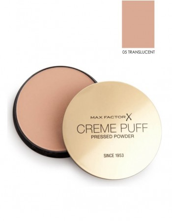 Kompaktinė pudra Max Factor Creme Puff 05 Translucent