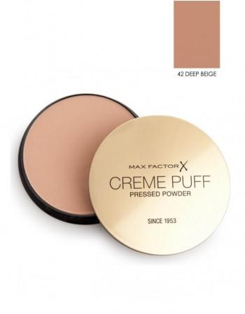 Kompaktinė pudra Max Factor Creme Puff 42 Deep Beige