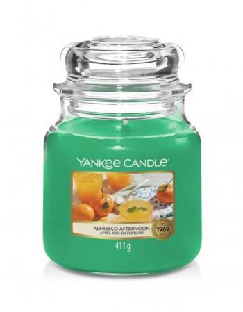 Ароматическая свеча YANKEE CANDLE, Alfresco Afternoon, 411 g