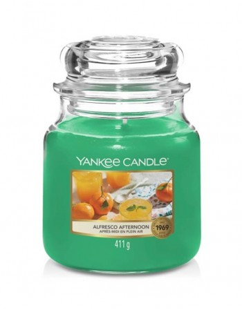 Lõhnav küünal YANKEE CANDLE, Alfresco Afternoon, 411 g