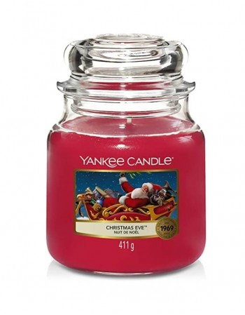 Scented candle YANKEE CANDLE, Christmas Eve, 411 g
