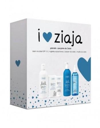 Rinkinys ZIAJA, GdanSkin facial SPF15+balm+soap+mist