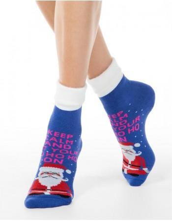 """Moteriškos kojinės """"Ho-ho-ho"""""""