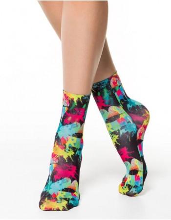 """Moteriškos kojinaitės """"Multicolor"""""""