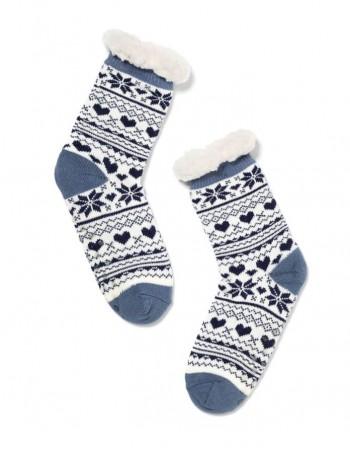 """Women's socks """"Dotti Blue"""""""
