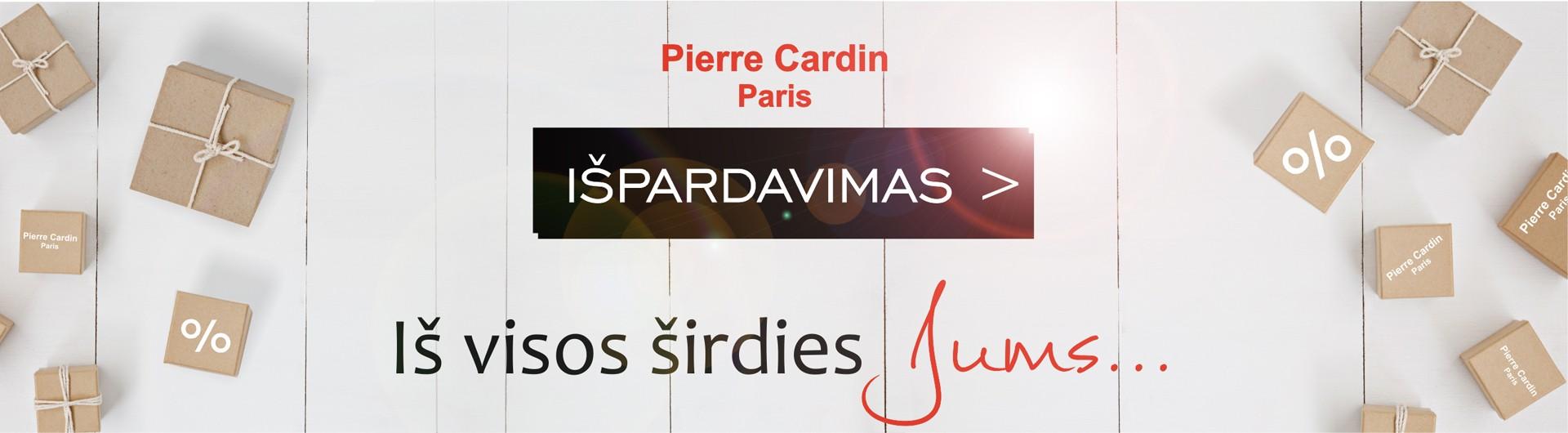 PIERRE CARDIN ISVALYMAS
